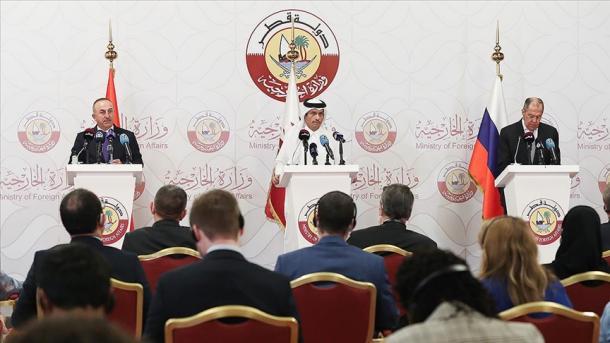 Turqi-Rusi-Katar fillojnë një proces konsultativ trepalësh për Sirinë   TRT  Shqip