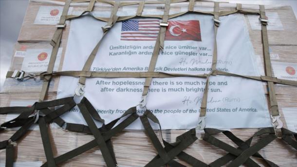 ShBA falënderon Turqinë për dërgimin e ndihmave mjekësore | TRT  Shqip