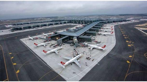Turquie: Le nouvel aéroport d'Istanbul accueille 1204 vols quotidiens