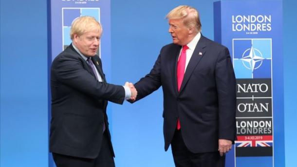 Johnson dhe Trump theksojnë luftën e koordinuar ndërkombëtare kundër pandemisë   TRT  Shqip