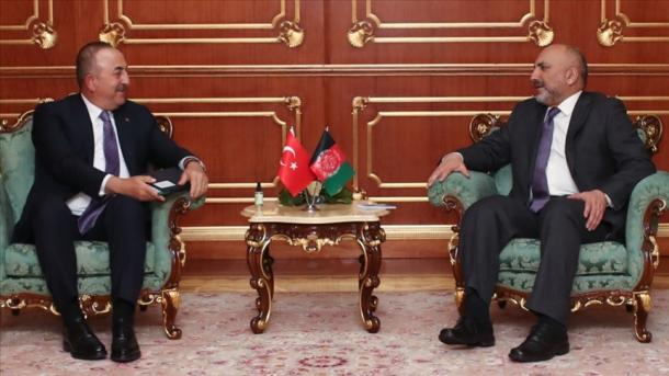 Çavusoglu bisedoi me homologun afgan për Konferencën e Stambollit | TRT  Shqip