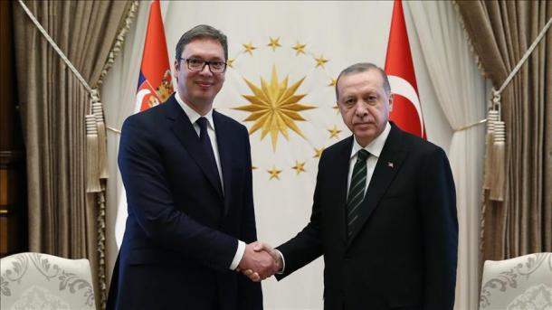 Vučić čestitao Erdoganu izbornu pobjedu