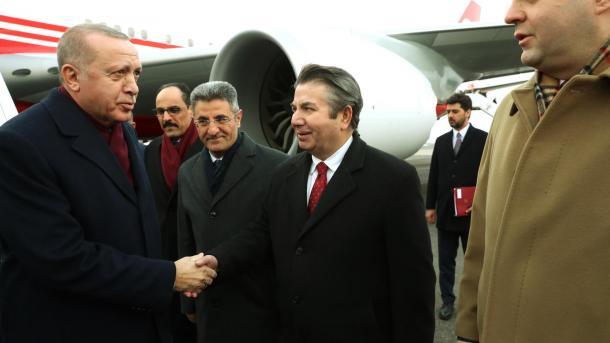 Presidenti Erdogan mbërrin në Berlin për të marrë pjesë në samitin për Libinë   TRT  Shqip