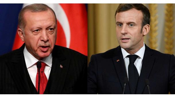 Biseda Erdogan-Macron pas tensionit në Mesdheun Lindor | TRT  Shqip