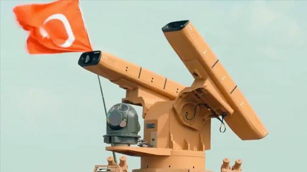 """Sistemi vendor i mbrojtjes ajrore """"Sungur"""" gati për mision   TRT  Shqip"""