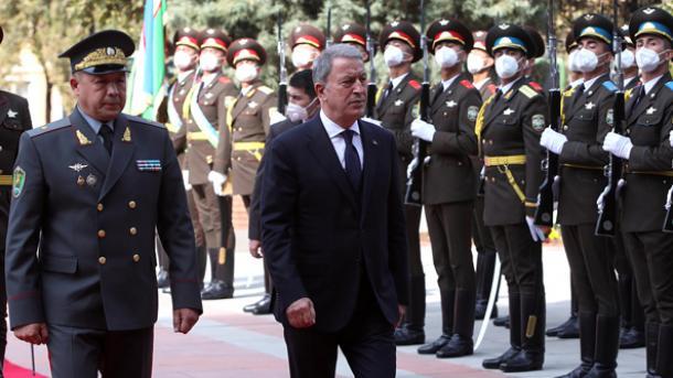 Akar për vizitë zyrtare në Uzbekistan, theksohet rëndësia e zhvillimit të marrëdhënieve dypalëshe | TRT  Shqip