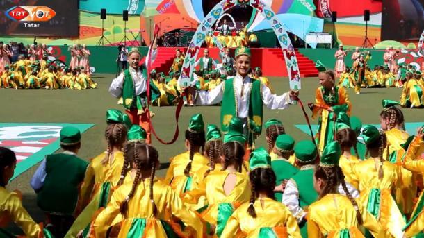 Tatarstanda başqala Sabantuyları | TRT  Tatarça