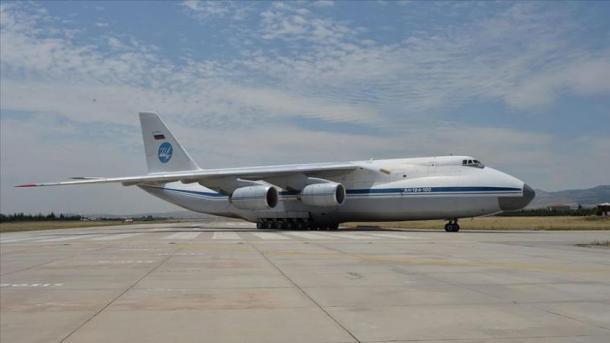 Mbërrin në Ankara avioni i 8-të me pjesë të S-400 | TRT  Shqip