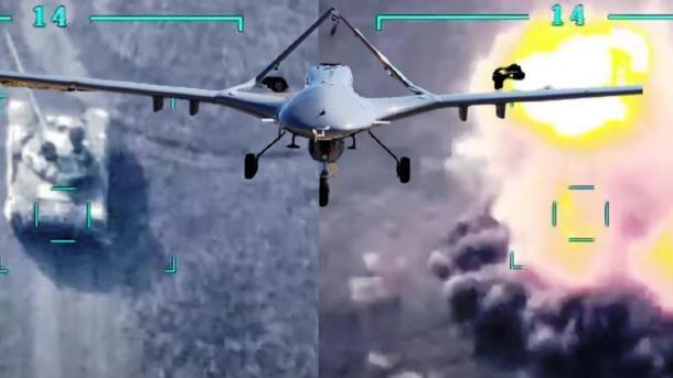 Trendi vazhdon, këtë herë dronët luftarakë turq lëvdohen nga mediat gjermane dhe greke | TRT  Shqip