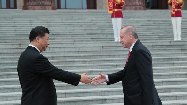 Ärdoğan Qıtay däwlät başlığı belän oçraştı | TRT  Tatarça