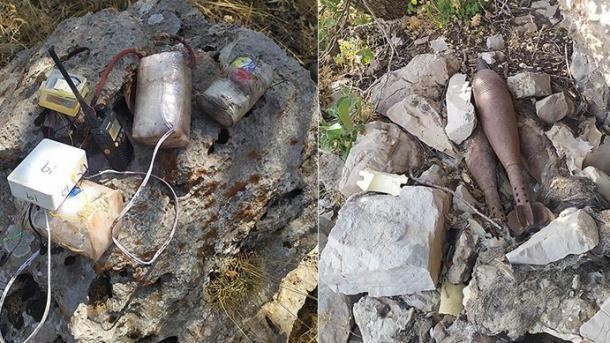 Komando turke sekuestrojnë sasi të mëdha të municionit të PKK-së në veri të Irakut | TRT  Shqip