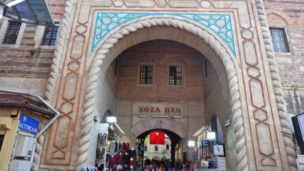 A e dini se çarshitë e themeluara qindra vjet më parë në Bursa shërbejnë ende?   TRT  Shqip