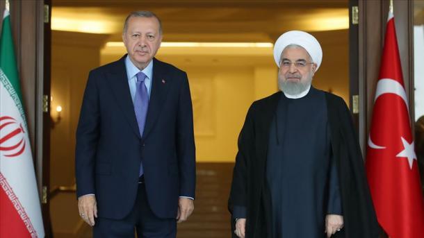 Presidenti Erdogan zhvilloi një bisedë telefonike me homologun iranian, Rouhani | TRT  Shqip