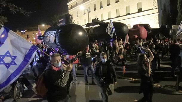 Mijëra izraelitë vazhdojnë me protesta për dorëheqjen e Netanyahut | TRT  Shqip