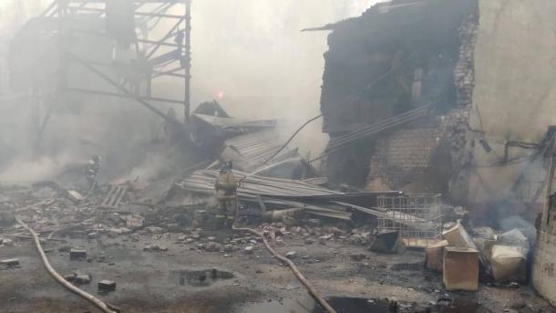 روس، کیمیکل فیکٹری میں دھماکے سے 16 افراد لقمہ اجل thumbnail