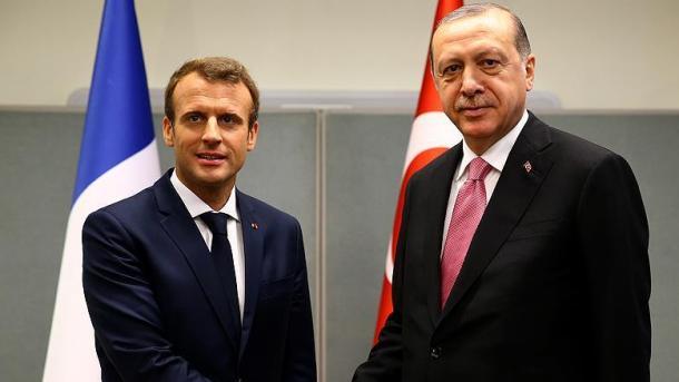 Erdogan dhe Macron biseduan në telefon për Idlibin | TRT  Shqip