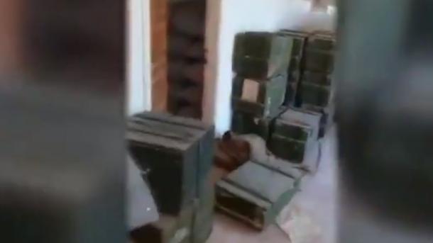 Siri - Ushtarët turq gjetën një depo me mina antitank të PKK/YPG-së | TRT  Shqip