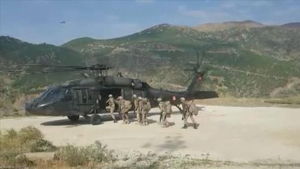 Turqia filloi një operacion në lindje, neutralizohen 3 terroristë | TRT  Shqip