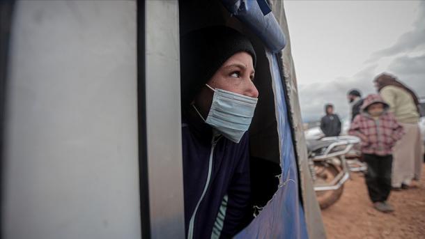IHH pret mbështetje për masat në luftën kundër Covid-19 në Siri | TRT  Shqip