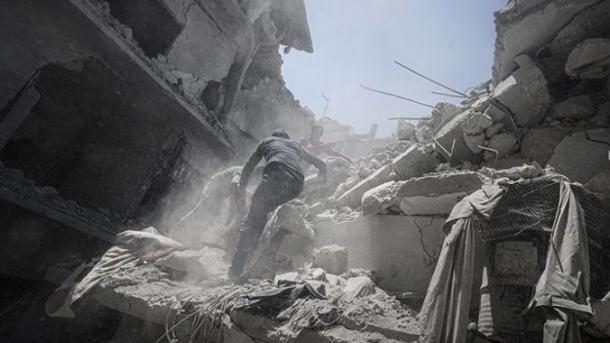 Siri – 9 civilë të vdekur në sulmet e regjimit në Idlib   TRT  Shqip