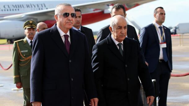 Erdogan pritet me ceremoni zyrtare në Algjeri | TRT  Shqip