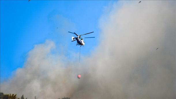 Zjarret pyjore në Turqi – Nën kontroll 88 prej gjithsej 98 vatrave   TRT  Shqip