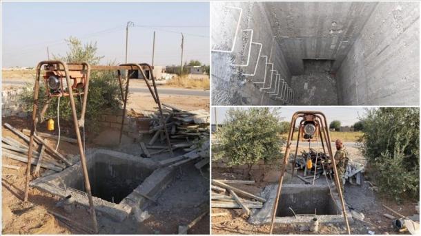 Forcat turke zbulojnë një tunel të organizatës terroriste YPG/PKK në Rasulayn | TRT  Shqip