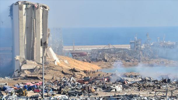 Bota solidarizohet me Libanin pas shpërthimit të fuqishëm në Bejrut   TRT  Shqip