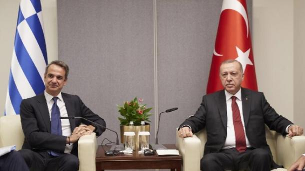 Erdogan takohet me Sanchez dhe Mitsotakis | TRT  Shqip
