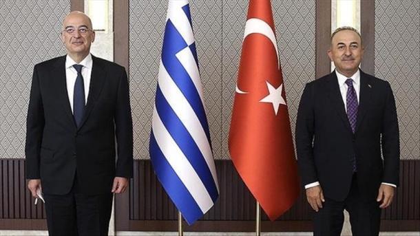 Çavusoglu në takimin me Dendias: Turqia do të mbrojë të drejtat e saj dhe popullit turk të Qipros | TRT  Shqip