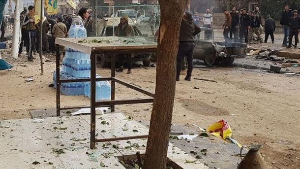 Bilanci i sulmit me bombë në Afrin, 2 civilë të vrarë dhe 5 të plagosur   TRT  Shqip