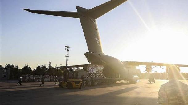 Turqia dërgon ndihma me materiale mjekësore në Irak   TRT  Shqip