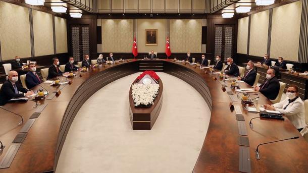 Ankara – Kabineti Presidencial mblidhet me agjendë Mesdheun Lindor | TRT  Shqip