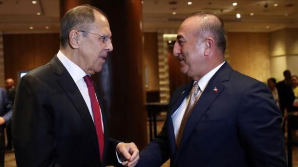 Biseda Çavusoglu-Lavrov, në fokus Siria dhe Ballkani | TRT  Shqip