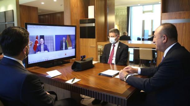 Çavusoglu-Seehofer, videokonferencë për një sërë çështjesh me interes të përbashkët   TRT  Shqip