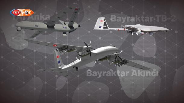 Dronët prodhim turk prishin planet për Libinë dhe Sirinë | TRT  Shqip