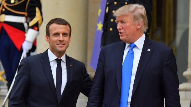 Trump dhe Macron diskutuan konfliktin në Libi   TRT  Shqip