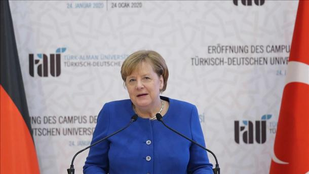 Merkel: Universiteti Turko-Gjerman, simbol i partneritetit | TRT  Shqip