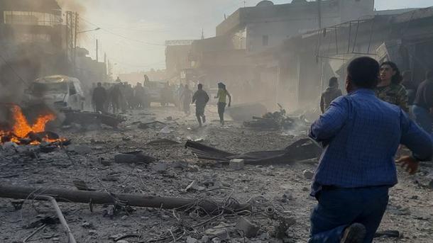 Sulm i përgjakshëm në veri të Sirisë, raportohen shumë të vrarë dhe të plagosur | TRT  Shqip