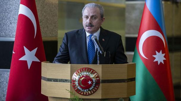 Mustafa Sentop: Turqia s'do të lejojë që Armenia të realizojë ambiciet e saj | TRT  Shqip