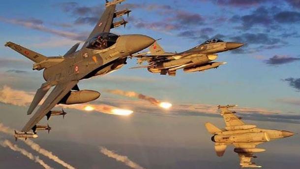 Operacion ajror i ushtrisë turke në veri të Irakut, neutralizohen 3 terroristë të PKK-së   TRT  Shqip