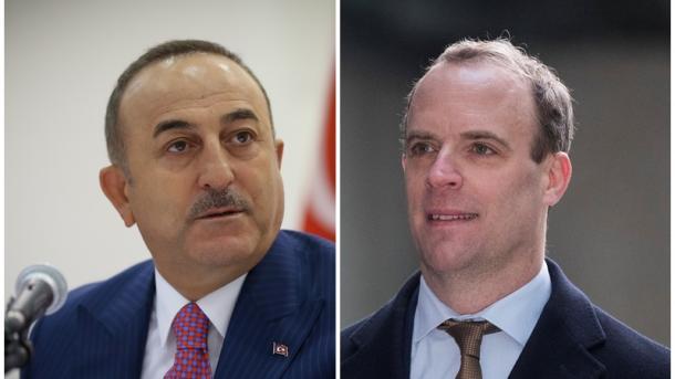 Kryediplomati turk dhe homologu britanik bisedojnë në telefon për vrasjen e Qasem Soleimanit   TRT  Shqip