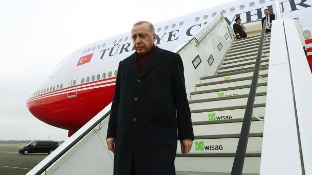 Erdogan u kthye në atdhe nga Samiti i Berlinit   TRT  Shqip