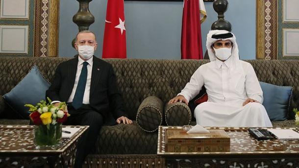 Presidenti Erdogan viziton Katarin, në fokus zhvillimi edhe më tej i marrëdhënieve dypalëshe | TRT  Shqip