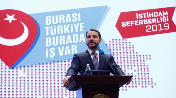 Albayrak: Turska će ove godine otvoriti 2,5 miliona novih radnih mjesta