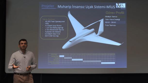 Turqia përshpejton projektin e Avionit Luftarak Kombëtar pa Pilot   TRT  Shqip