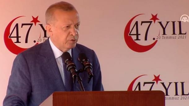 Erdogan për çështjen e Qipros: Kemi të drejtë dhe do ta mbrojmë deri në fund   TRT  Shqip