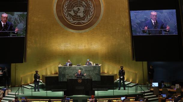 Erdogan në OKB: E turpshme që vazhdon ende nacionalizmi i vaksinës   TRT  Shqip
