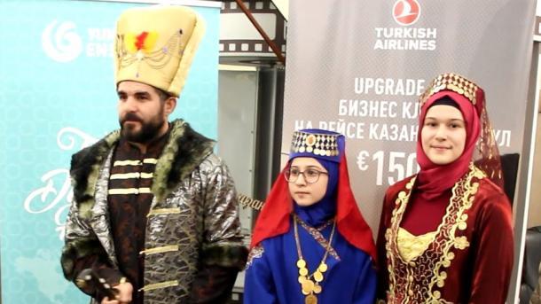 Qazanda 4nçe törek fil'mnarı atnalığı | TRT  Tatarça