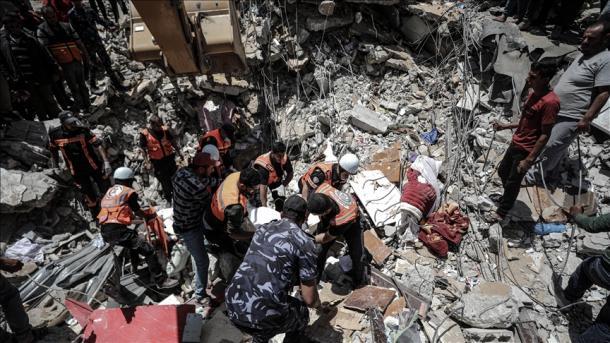 """Amnesty International"": Sulmet e Izraelit kundër civilëve janë krime lufte   TRT  Shqip"